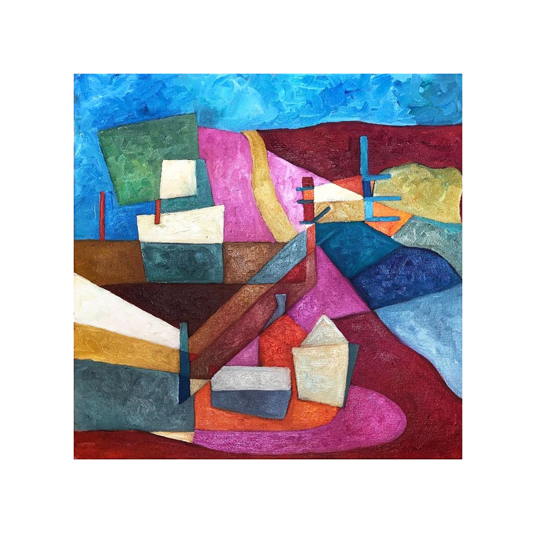 Abstract Harbour Oil