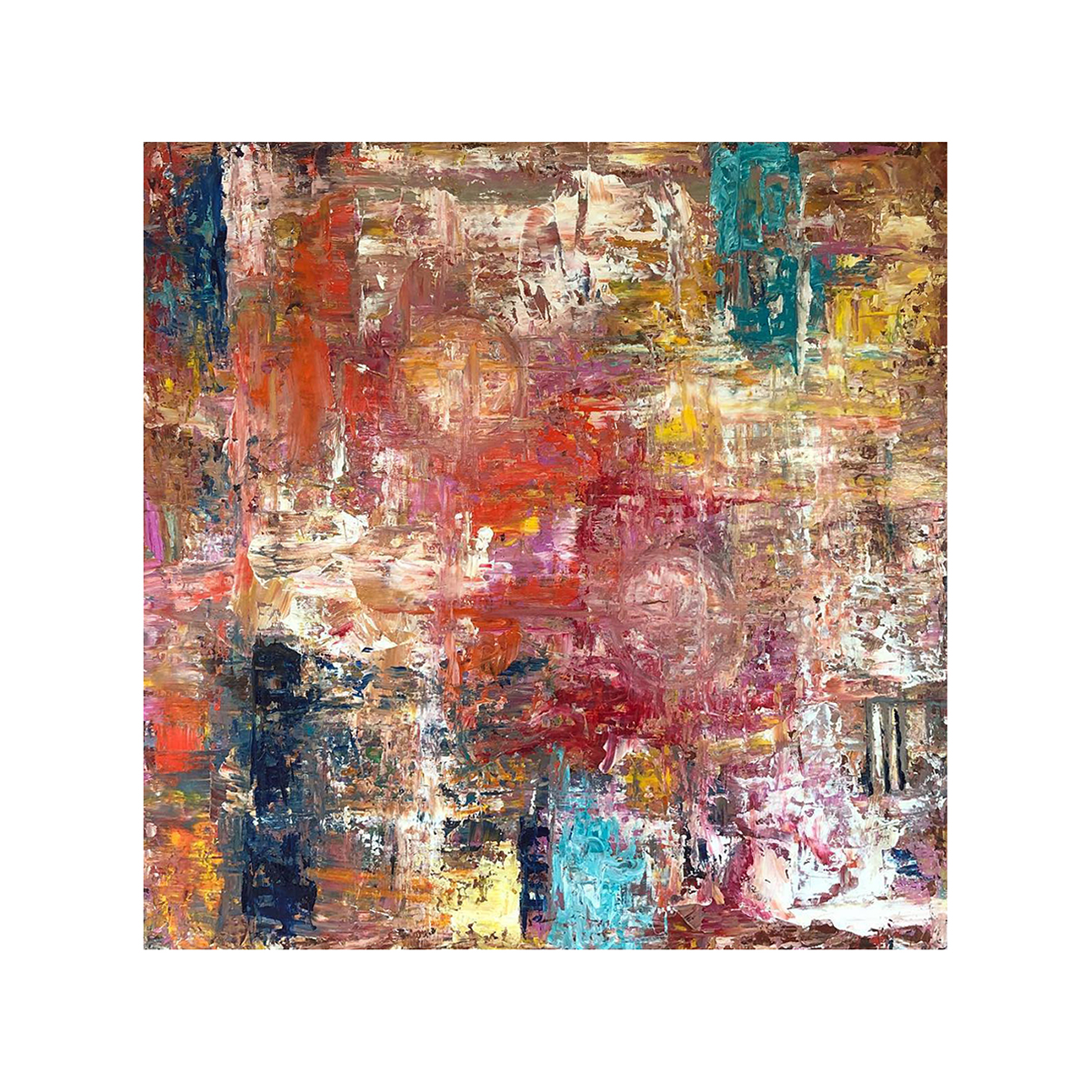 Completely Abstract Painting