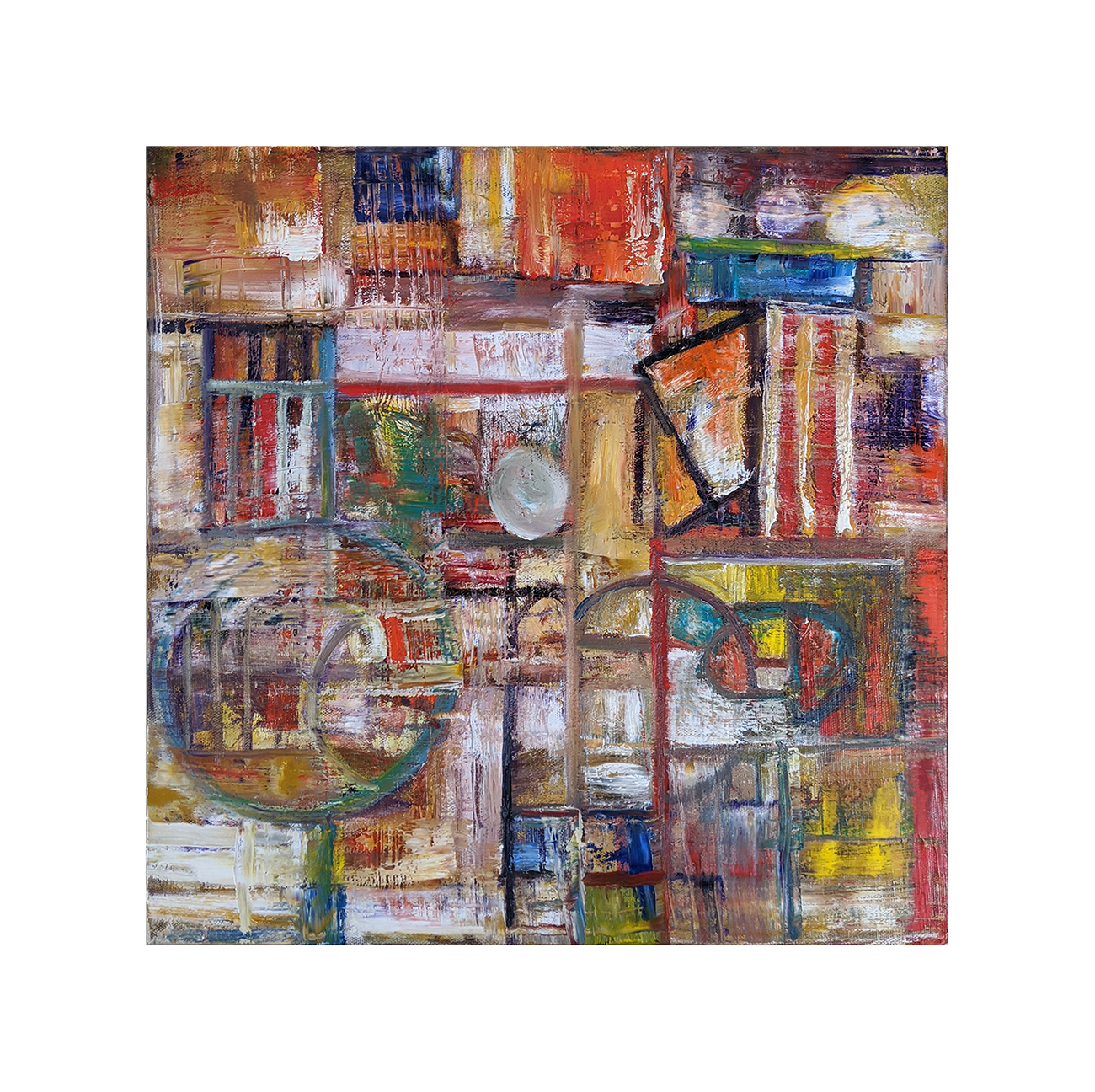 Mr Roboto Abstract Painting