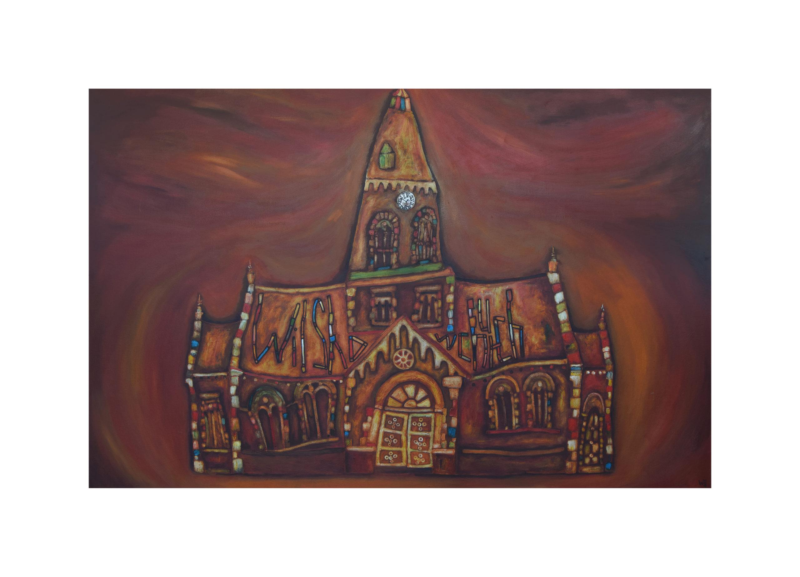 Wilshaw Church Painting